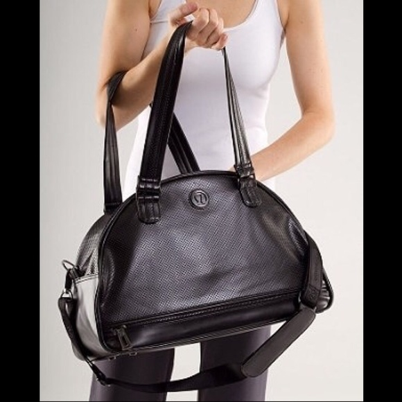 08a35725f09 lululemon athletica Handbags - Lululemon Retro Groove Bag ~ Black Perforated
